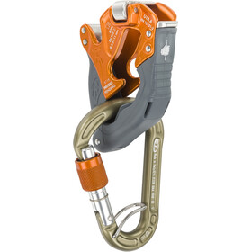 Climbing Technology Click-Up + Kit Asegurador / Descensor, orange